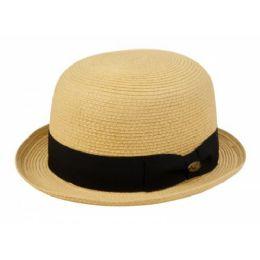 12 of Braid Straw Bowler Hats