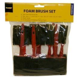 48 of 10pc Foam Brush Set