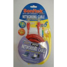 12 of 10ft Networking Cable