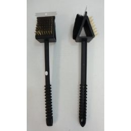 """72 of 14"""" 3-IN-1 Grill Brush"""