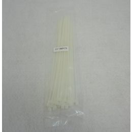 """60 of 30pc 11"""" Cable Ties [white]"""