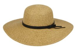 12 of Straw Floppy Hats With Leather Band