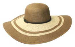 12 of Wide Brim Straw Braid Floppy Hats