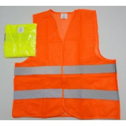 100 of Super Reflective Safety VesT--Orange Only
