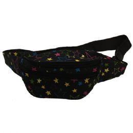 120 of Fabric Fanny Bag With An Adjustable Waist Strap (dimensions: 15 X 5 X 3)