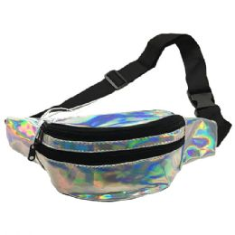 120 of Iridescent Silver Adjustable Waist Strap (dimensions: 15 X 5 X 3)