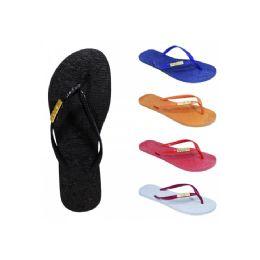 60 of Women's Solid Color Flip Flop