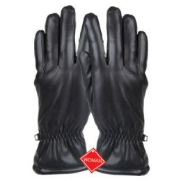 12 of Ladies Faux Leather Glove