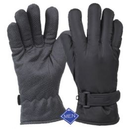 12 of Men's Waterproof Glove W/thermal Fleece Lining