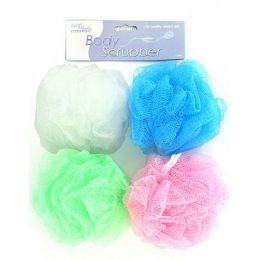 72 of Body scrubber (assorted colors)