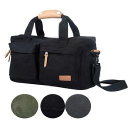 4 of Canvas Computer Bag In Black