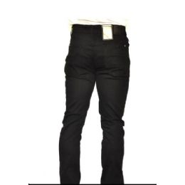 12 of Chino Stretch 100% Viscose Brushed Fabric Black Only