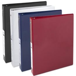 24 of 1 Inch Binder With Two Pockets - Assorted