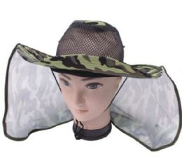 72 of Unisex Assorted Color Camo Boonie Hat