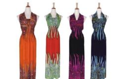 36 of Womens Plus Size Fashion Sun Dresses Assorted Colors And Sizes Summer Dresses