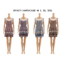 72 of Womens Fashion Summer Romper With Lace Neck