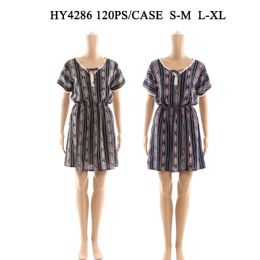 60 of Womens Fashion Short Summer Dress In Assorted Sizes