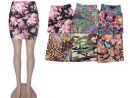 36 of Womens Denim Like Skirt