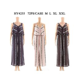 36 of Womens Fashion Jumpsuit Assorted Sizes And Color