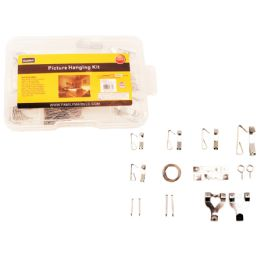 72 of 123pc Picture Hanging Kit With Tool Box