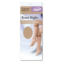 144 of Knee Highs Beige