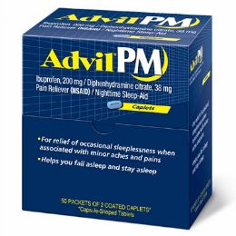 4 of Advil Pm 50 Count