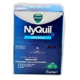 6 of Nyquil 25 Count