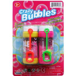 48 of Crazy Bubbles Bottles And Loops On Blister Card