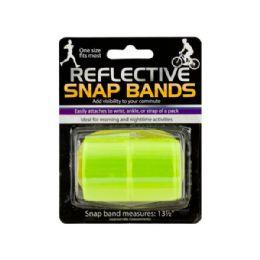 72 of Reflective Snap Bands Set