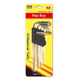 48 of 9 Piece Hex Key Set