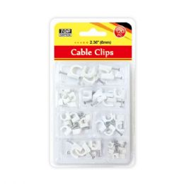 96 of Cable Clip 6mm/120 Count