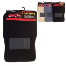 12 of 4 Piece Car Mat Set