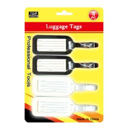 96 of Four Pack Luggage Tag