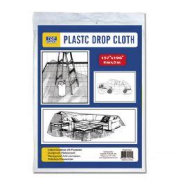 96 of Plastic Drop Cloth