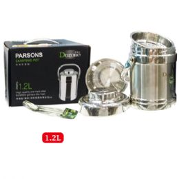 12 of 1.2l Stainless Food Pot