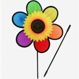 """72 of 11"""" W Sunflower Windspinner"""