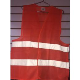 72 of Super Reflective Safety VesT--Orange Only