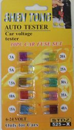 160 of 10pc Car Fuse