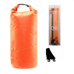 12 of Camping 002 Waterproof Bag 20 Liter Orange
