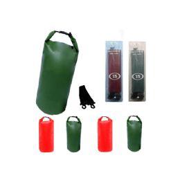 12 of Camping 002 Waterproof Bag 20 Liter Green