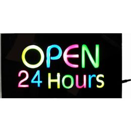 20 of Led Open 24 Hours Sign