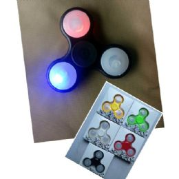 20 of Light Up Fidget SpinneR--Asst Colors