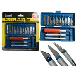 144 of 13 Piece Hobby Knife Set