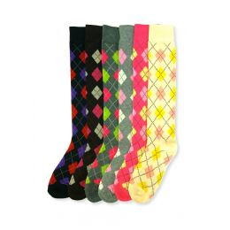144 of Women's Argyle Knee Highs