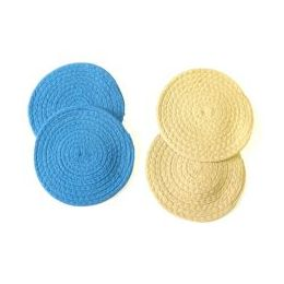 48 of 2 Pack Woven Round Trivet