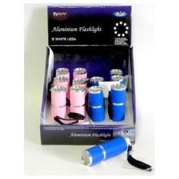 48 of 9 White Led Flashlight 3.5 In Shock Proof