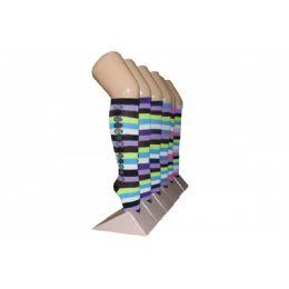 240 of Girls Striped Knee High Socks