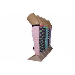240 of Girls Polka Dot Knee High Socks