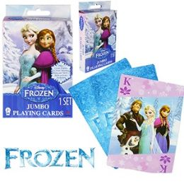 48 of Disney's Frozen Jumbo Playing Cards