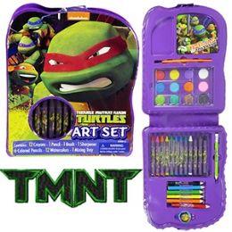 24 of Teenage Mutant Ninja Turtle Art Set 22 Piece